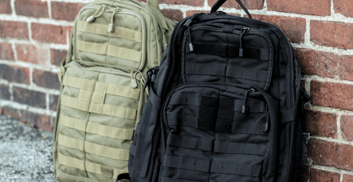 Bug Out Bag Academy - 5.11 Tactical