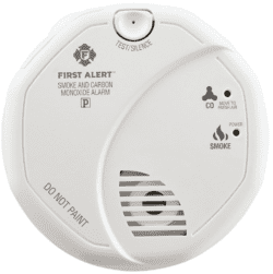 fire safety at home - first alert smoke detector carbon monoxide alarm